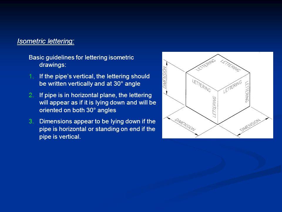 Piping Isometrics Chapter 8 Isometric Layout Drawing Isometric