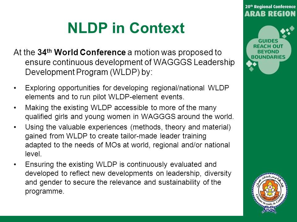 NLDP in Context