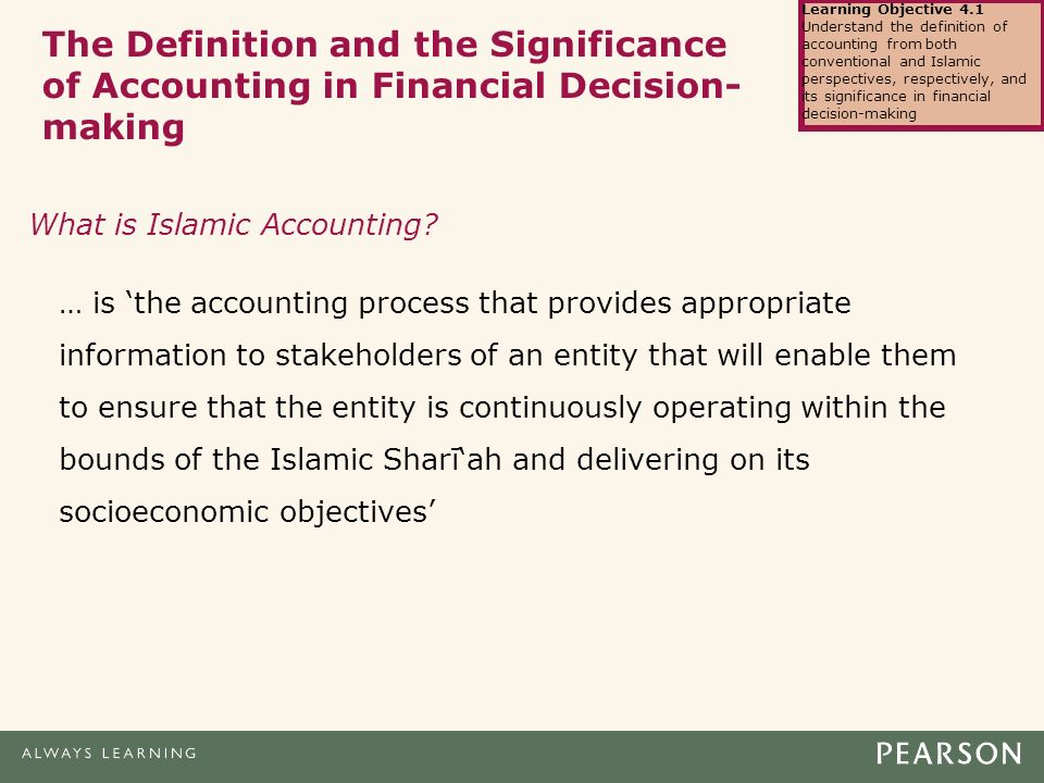 islamic accounting and conventional accounting