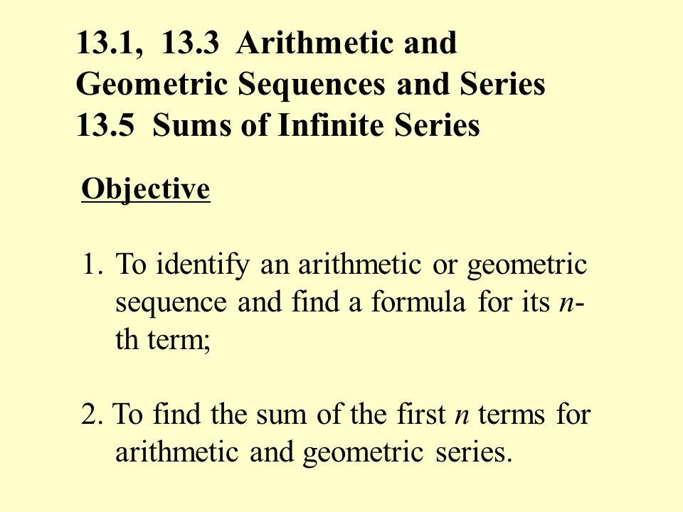 Images of Arithmetic And Geometric Sequences Calculator - #rock-cafe