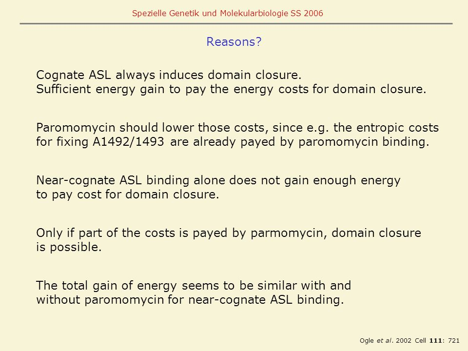 Cognate ASL always induces domain closure.