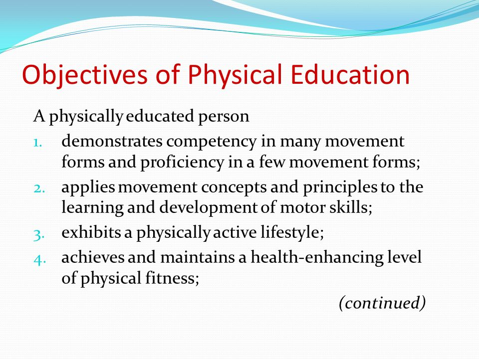problems facing physical education In light of decreasing numbers of students majoring in physical education and decreasing job opportunities in the profession, the real challenge is how physical education departments can survive one possible tactic is to attract students in search of career opportunities as alternatives to coaching.