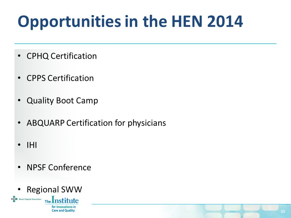 Introduction to the Hospital Engagement Network (HEN) - ppt download