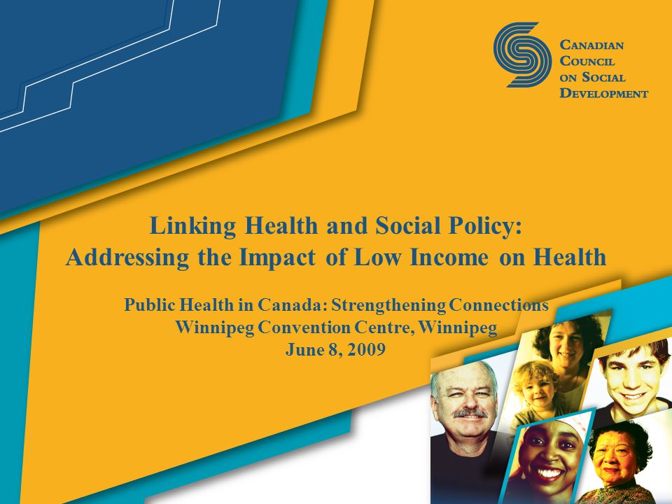 Linking Health and Social Policy: