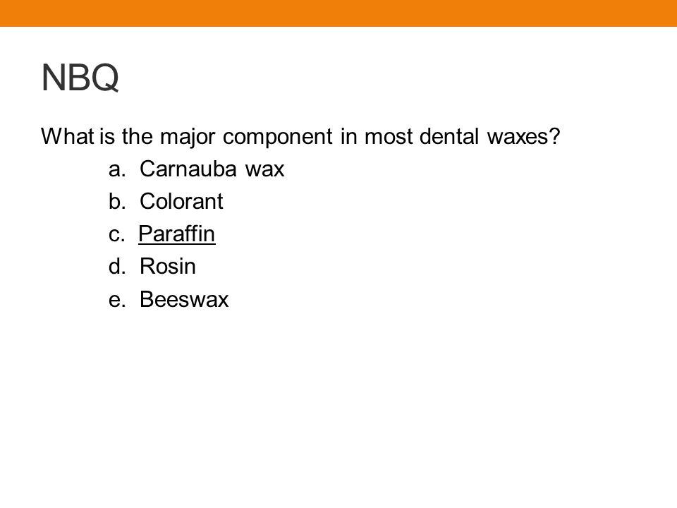 Board Review DH227 Dental Materials - ppt download