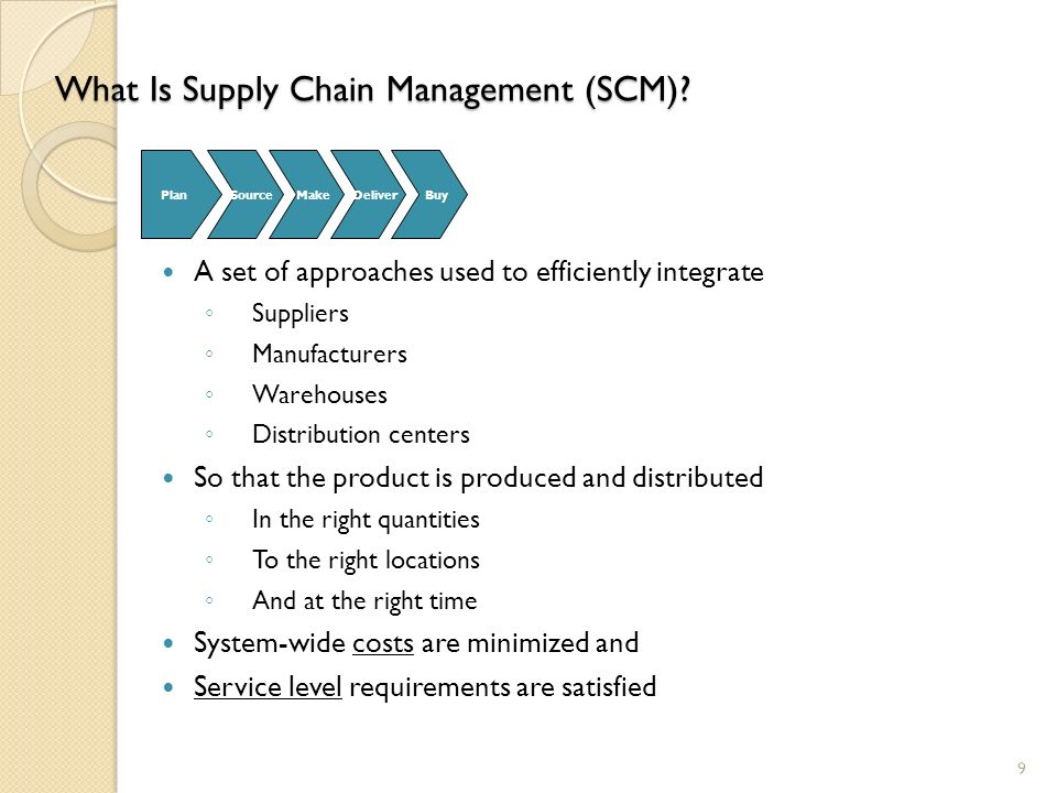 supply chain management pdf download