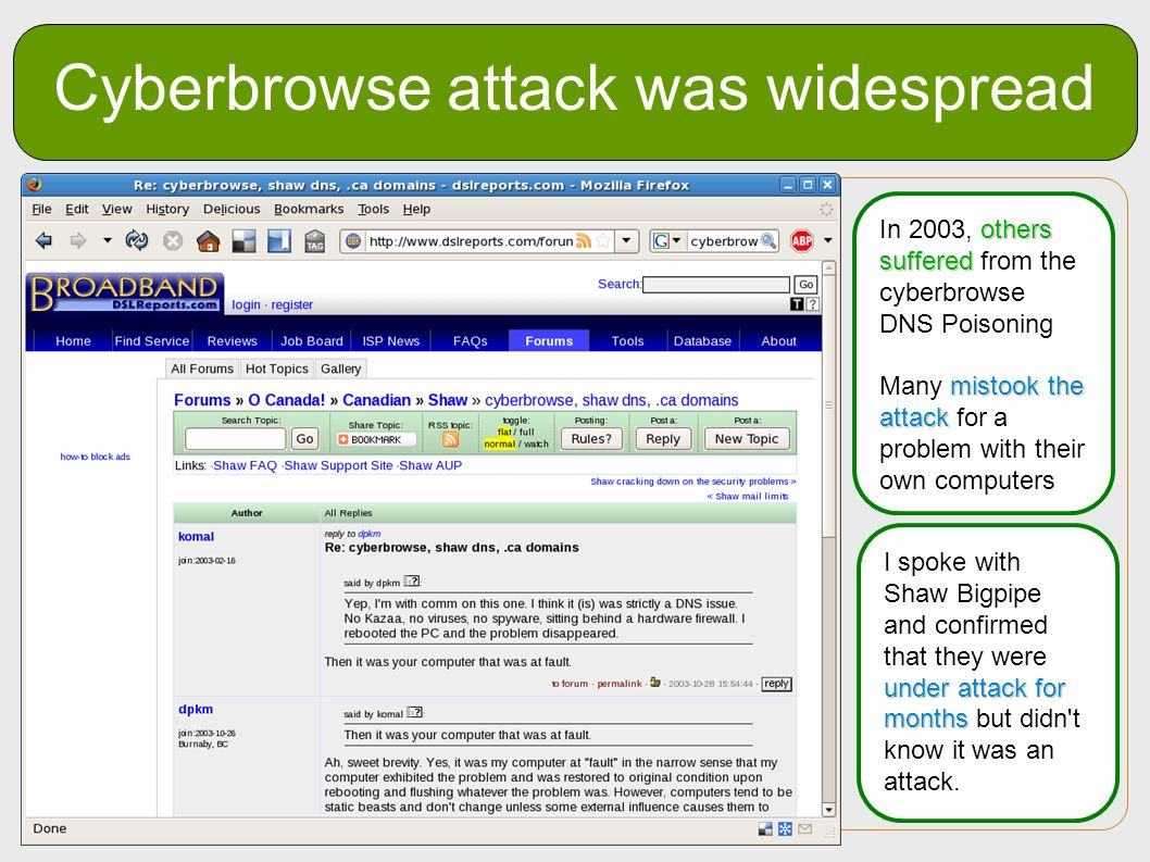 Cyberbrowse attack was widespread
