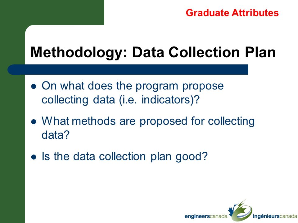 Methodology: Data Collection Plan