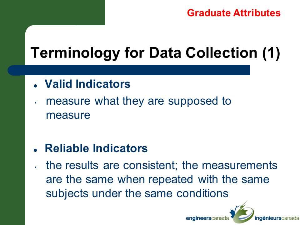 Terminology for Data Collection (1)