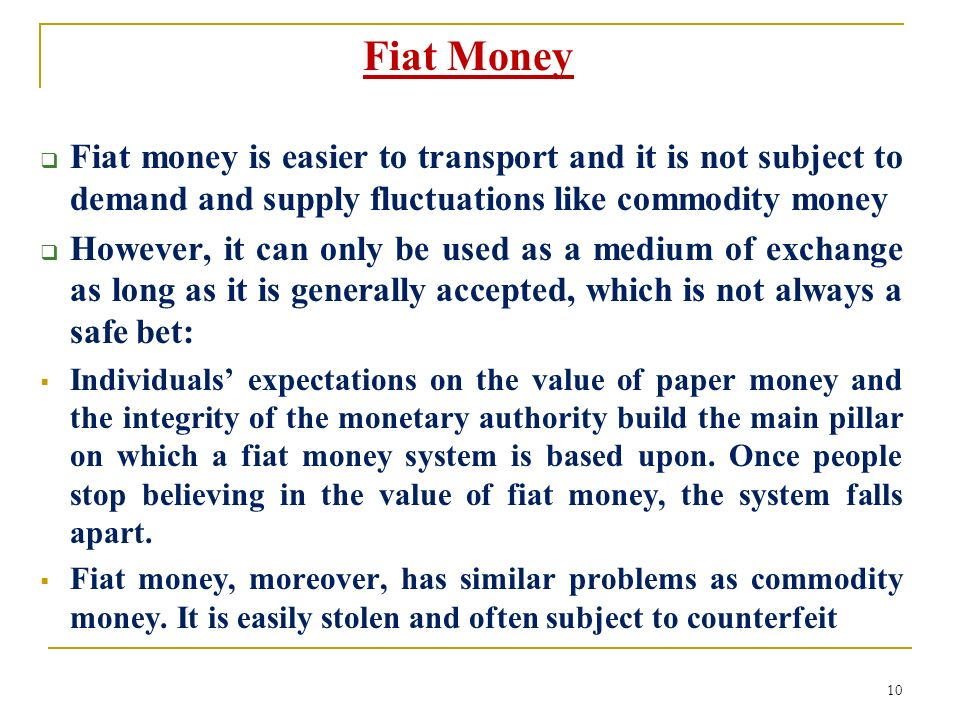 chapter 3 what is money?. - ppt video online download