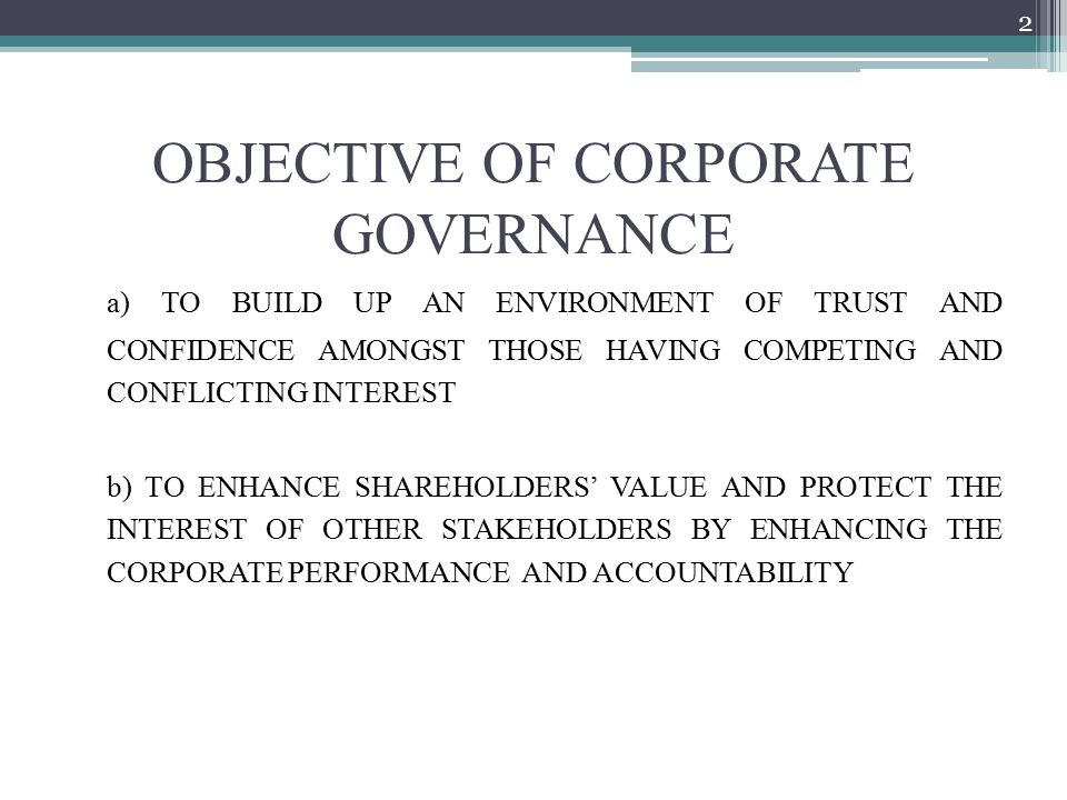 Session 4 – Corporate Governance and Business Ethics - ppt video