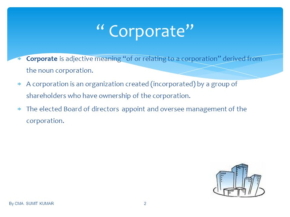 CORPORATE GOVERNANCE & AUDIT COMMITTEE - ppt download