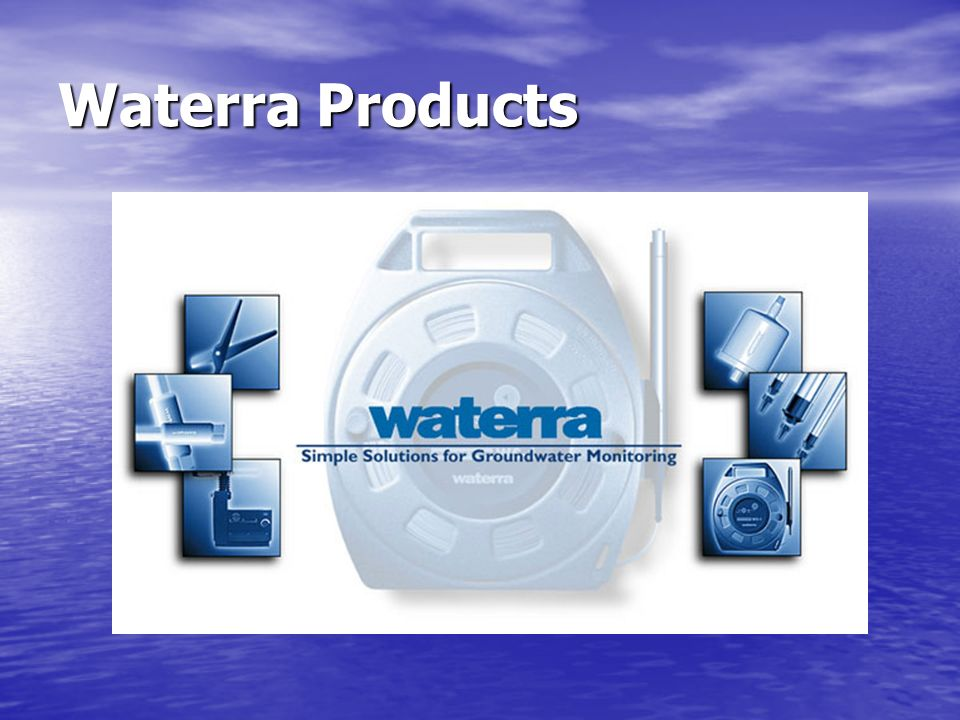 Waterra Products