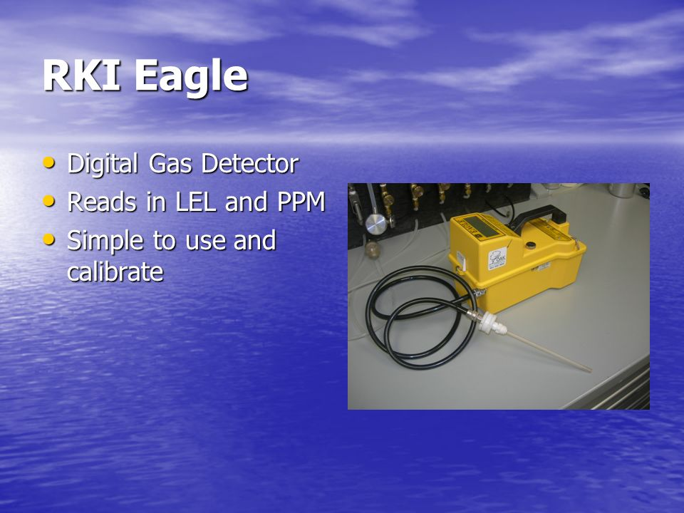 RKI Eagle Digital Gas Detector Reads in LEL and PPM