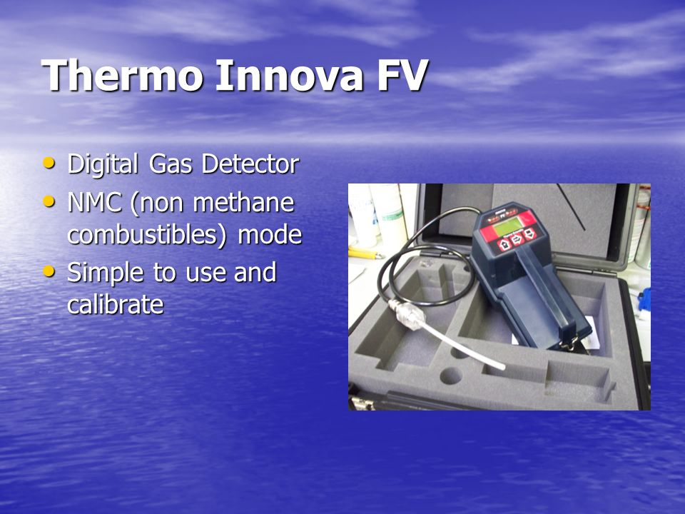 Thermo Innova FV Digital Gas Detector