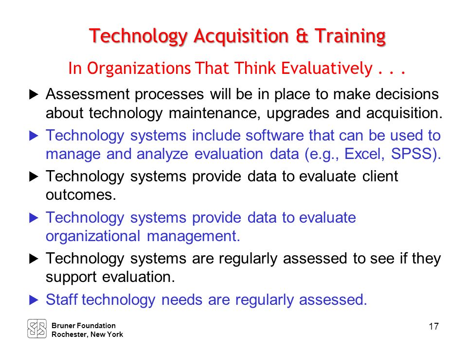 Staff Development Organizations That Use Evaluative Thinking Will . . .