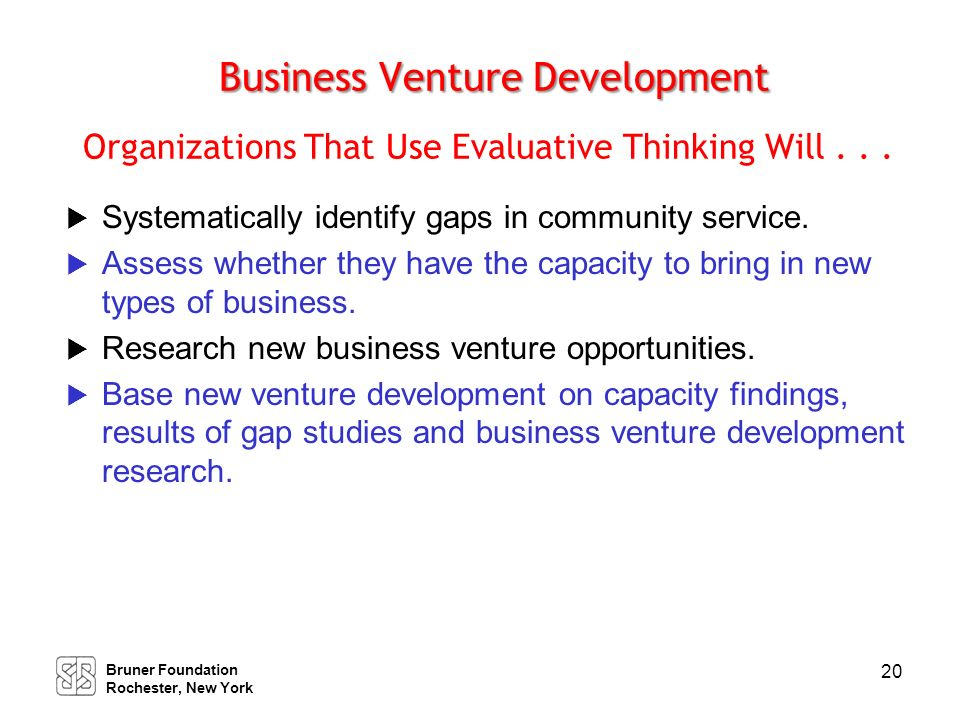 Alliances and Collaboration Organizations That Use Evaluative Thinking Will . . .