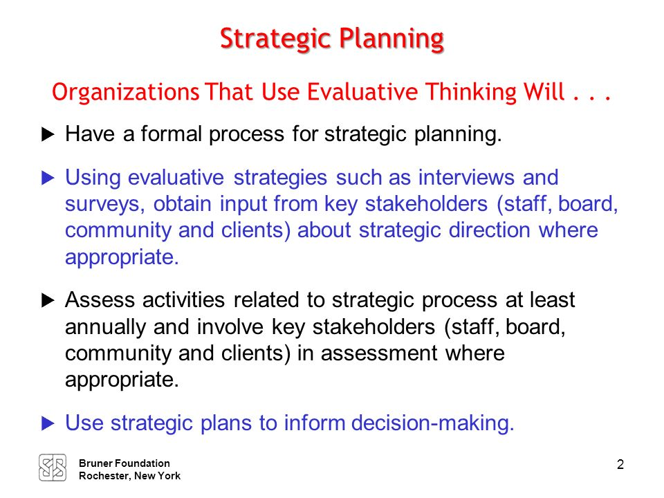 Governance and Evaluative Thinking In Organizations That Think Evaluatively . . .