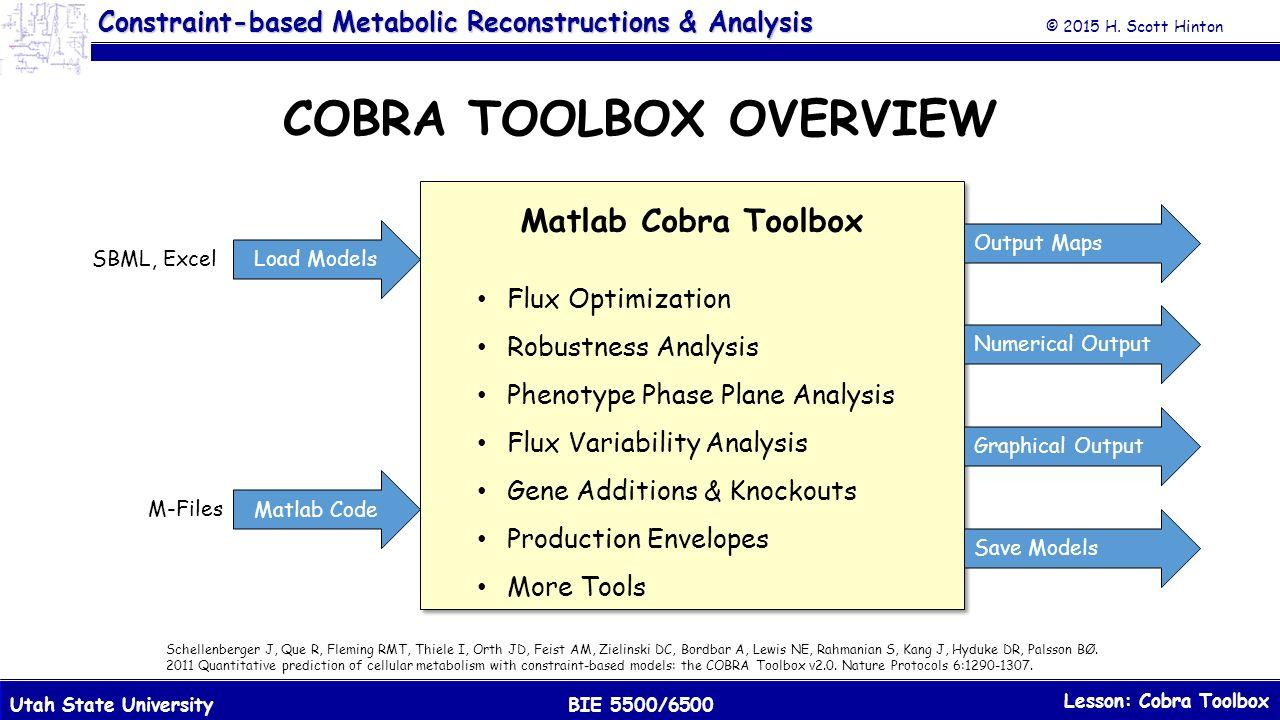 Cobra Toolbox  - ppt download