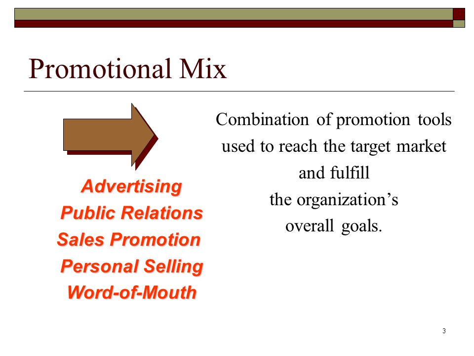 Chapter 14 Integrated Marketing Communications. Promotional Mix.