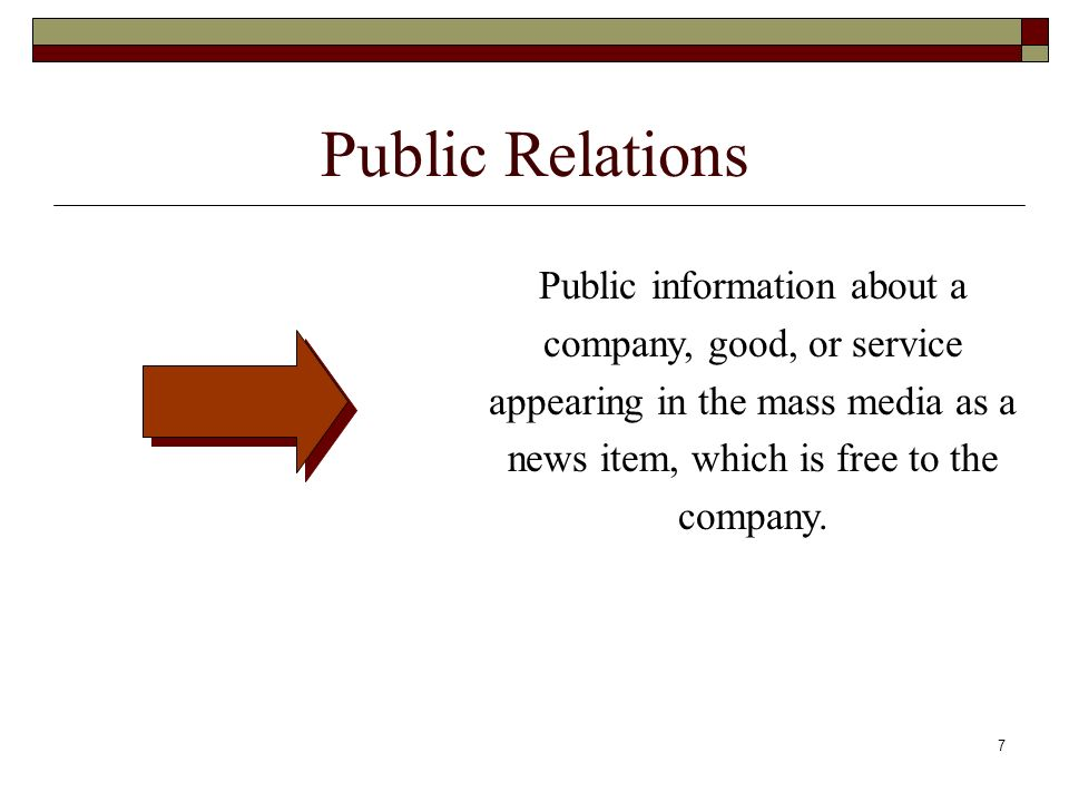 Chapter 14 Integrated Marketing Communications. Public Relations.