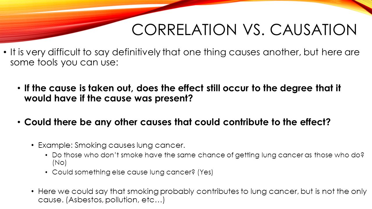 Correlation Vs Causation Ppt Download