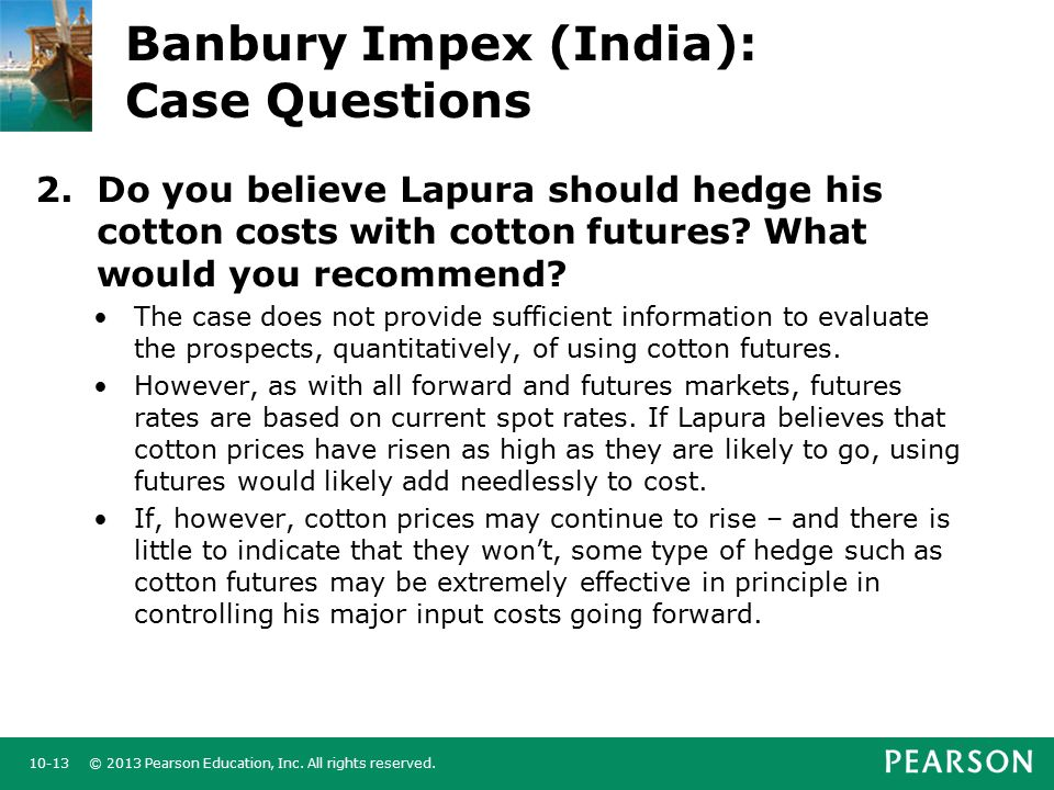 banbury impex case study answers