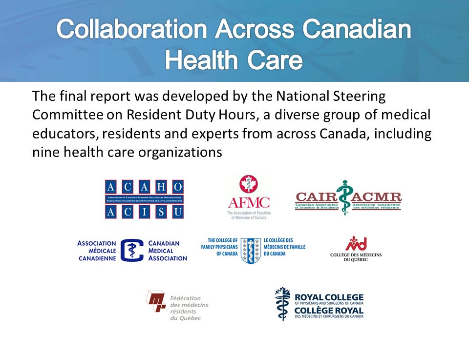 Collaboration Across Canadian Health Care