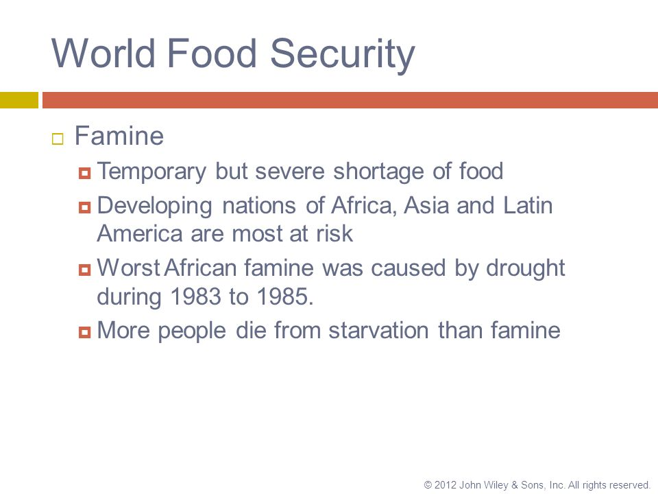 causes of food shortage A famine is a widespread scarcity of food, caused by several factors including war, inflation, crop failure, population imbalance, or government policiesthis phenomenon is usually accompanied or followed by regional malnutrition, starvation, epidemic, and increased mortality.