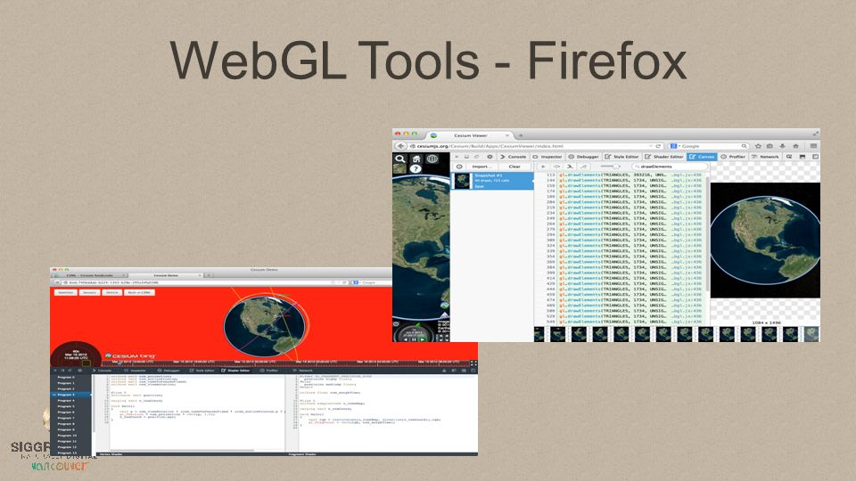 Teaching Intro and Advanced Graphics with WebGL - ppt video