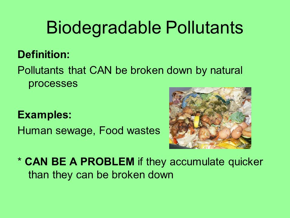 Example of pollutants | examplesof. Net.