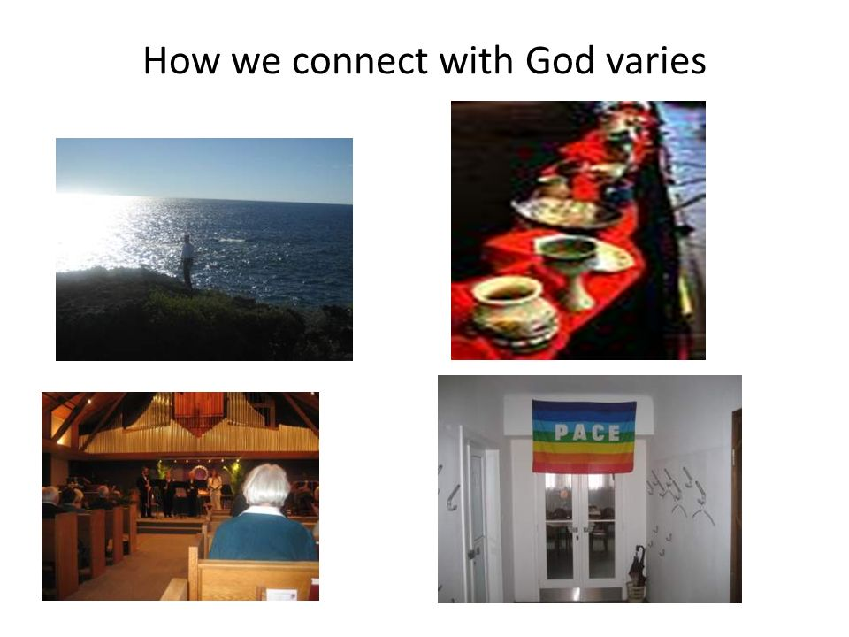 How we connect with God varies