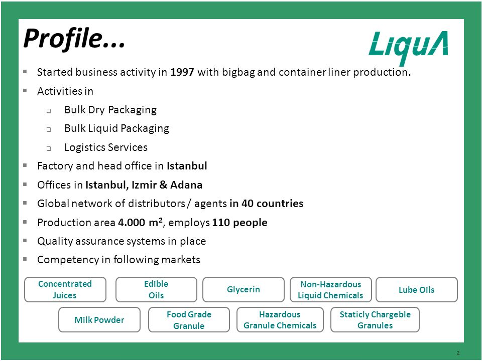 Company Profile  - ppt video online download