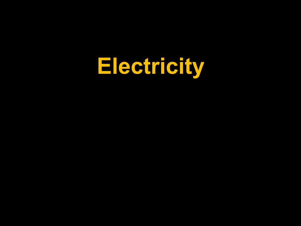 Table of Contents Electricity