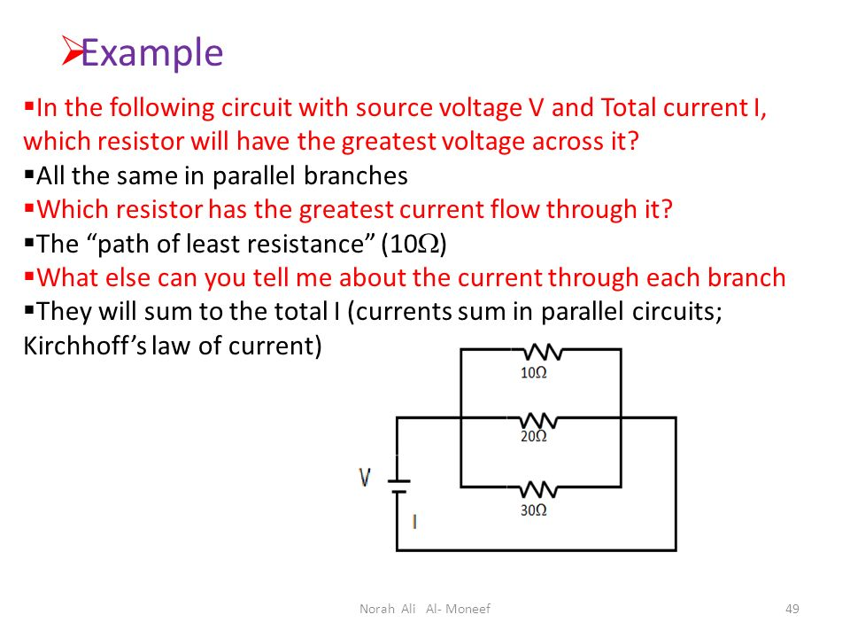 And Current In Parallel Circuits Arranging The Same Resistors