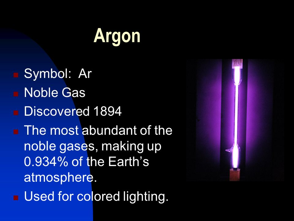 uses of noble gases Other than the use of neon in these glow signs, noble gases are used in various other industries as well over the period of time, these gases have become an important part of various industries - right from welding to space exploration.