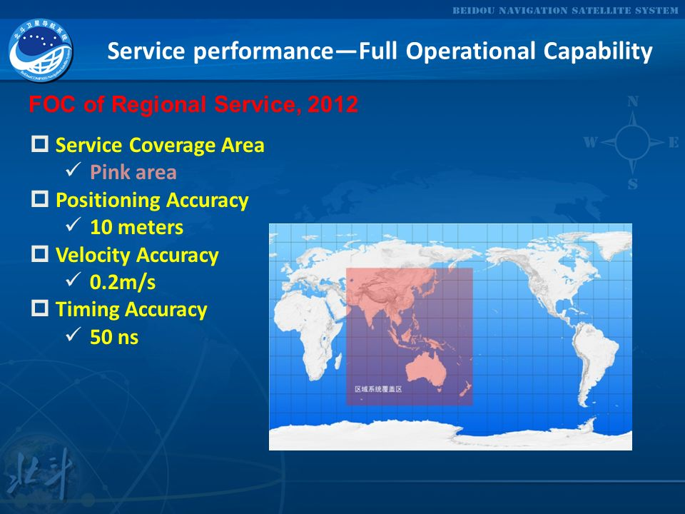 Service performance—Full Operational Capability