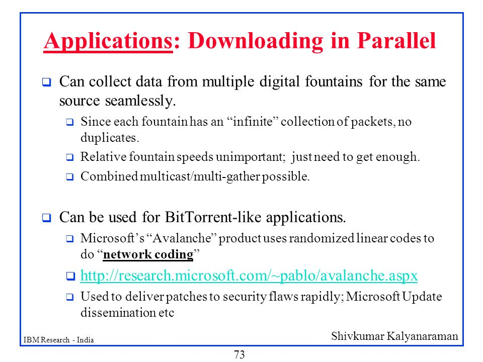 Applications: Downloading in Parallel