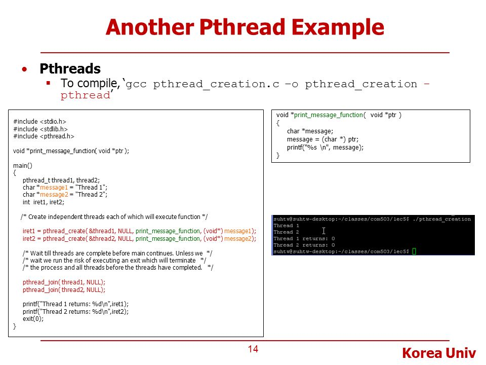 A pthreads tutorial c & c++ programming blog | faye williams.