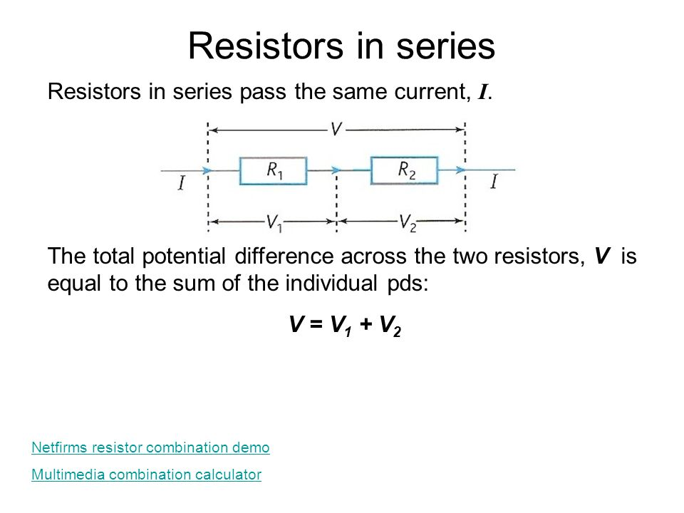 5 1 Electric potential difference, current and resistance - ppt download