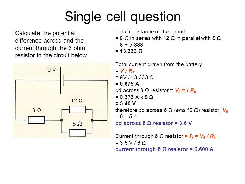 5 1 electric potential difference current and resistance ppt download rh slideplayer com what is the potential difference between two points in a circuit called what is the potential difference across a circuit