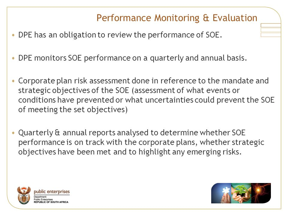 Performance Monitoring & Evaluation