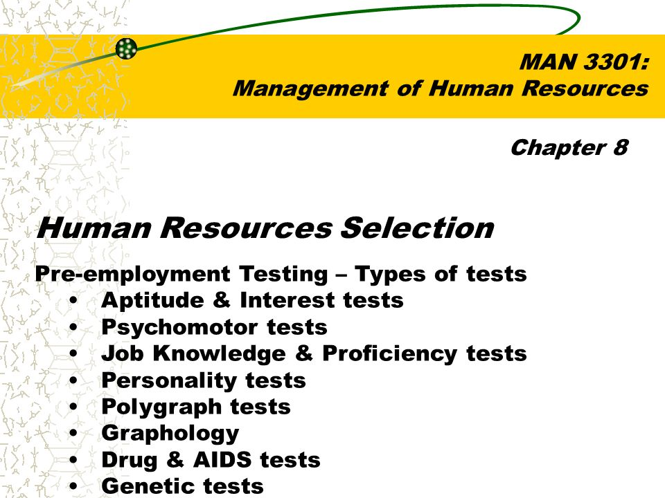Human Resources Selection  - ppt video online download