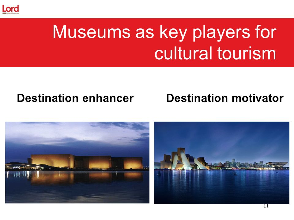 Museums as key players for cultural tourism