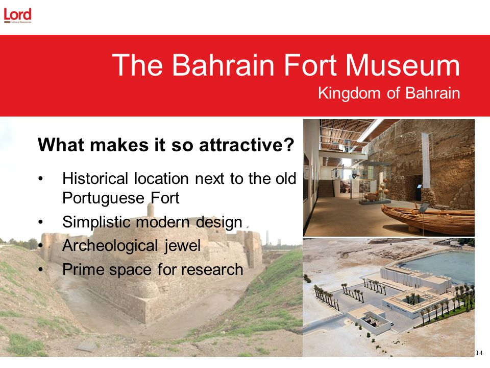 The Bahrain Fort Museum Kingdom of Bahrain