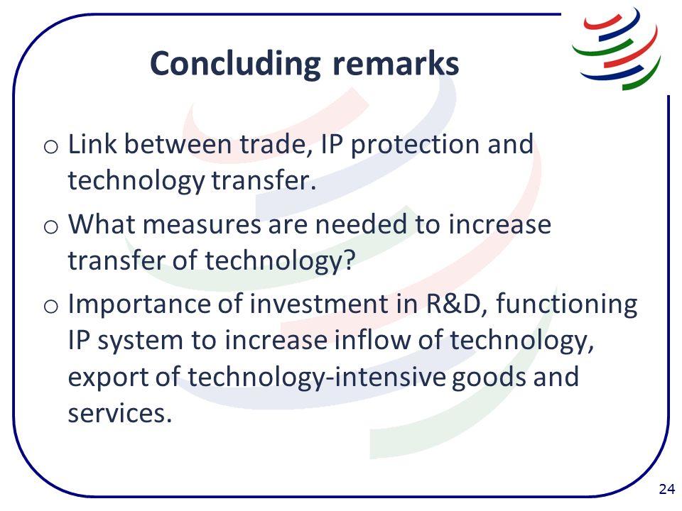 importance of technology transfer