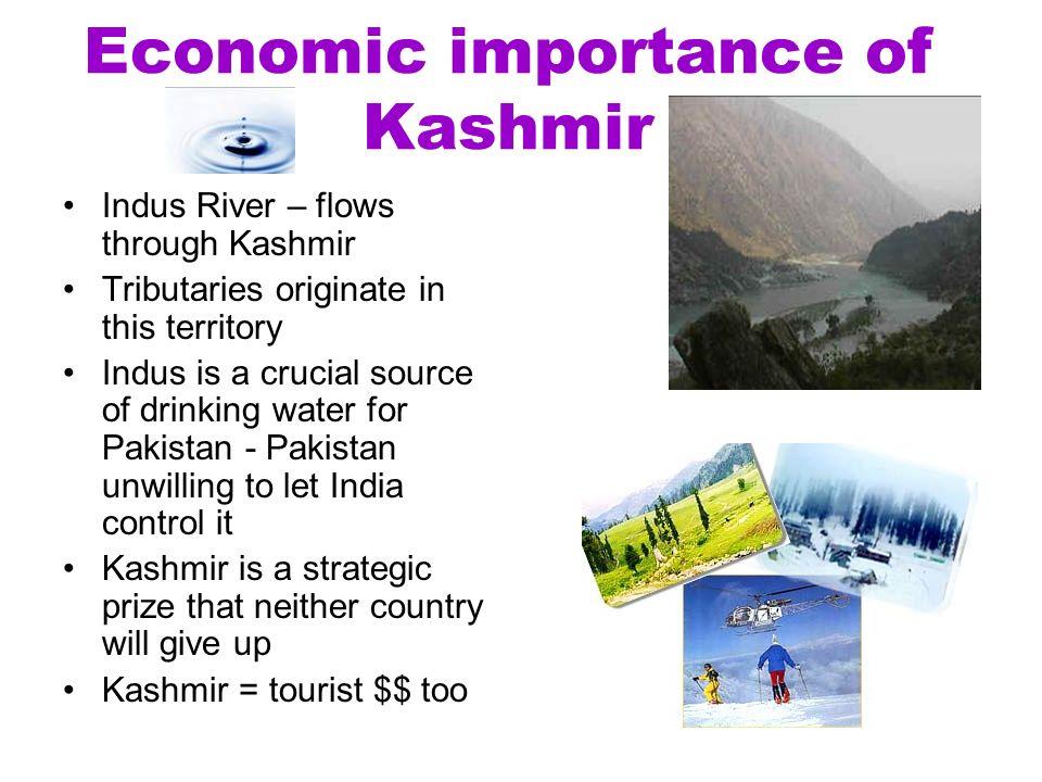 importance of kashmir for pakistan
