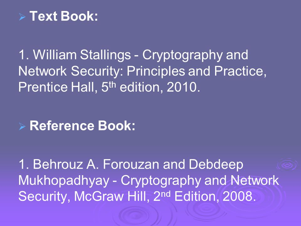 Cryptography And Network Security By Forouzan 2nd Edition Pdf
