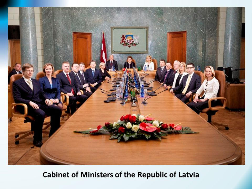 Cabinet of Ministers of the Republic of Latvia