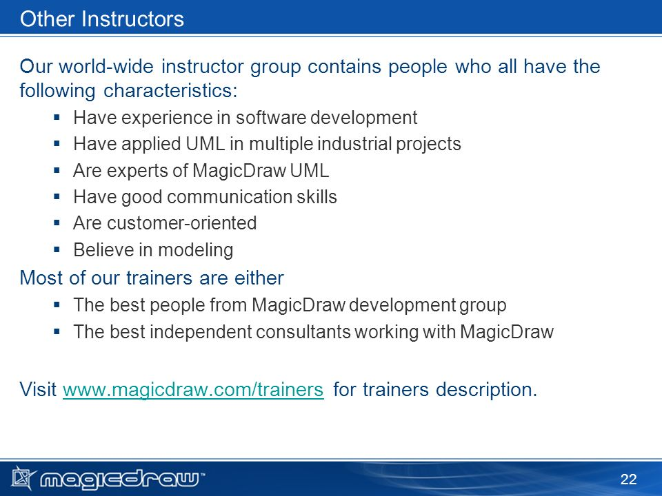 Free Mini Course: Applying SysML with MagicDraw - ppt video